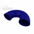 Coude silicone 180°
